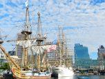 Tall ships at the Inner Harbor.