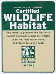 backyard habitat NWF