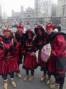 riverfront wench mummers parade