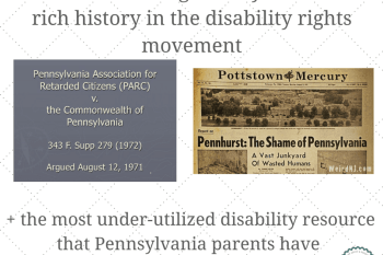 PARC, Pennhurst and the most under utilized disabilities resource in Pennsylvania