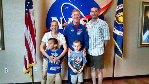 lunch with an astronaut Kennedy Space Center