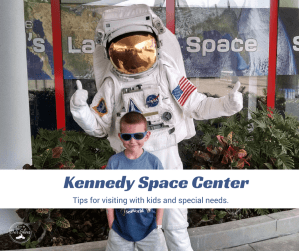 Read this before you visit Kennedy Space Center. {especially if traveling with kids/disabilities}