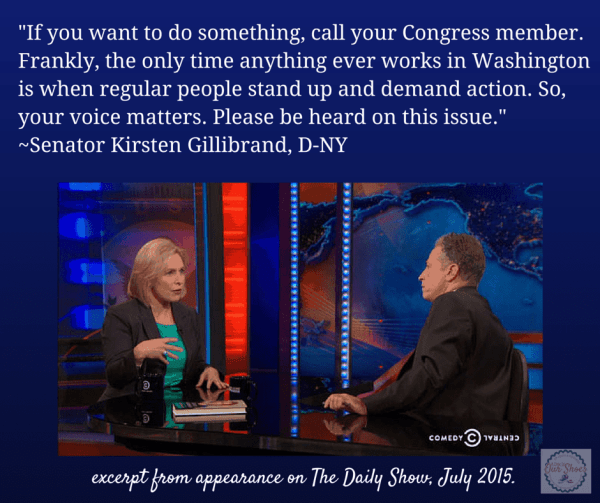 kirsten gillibrand quote from daily show