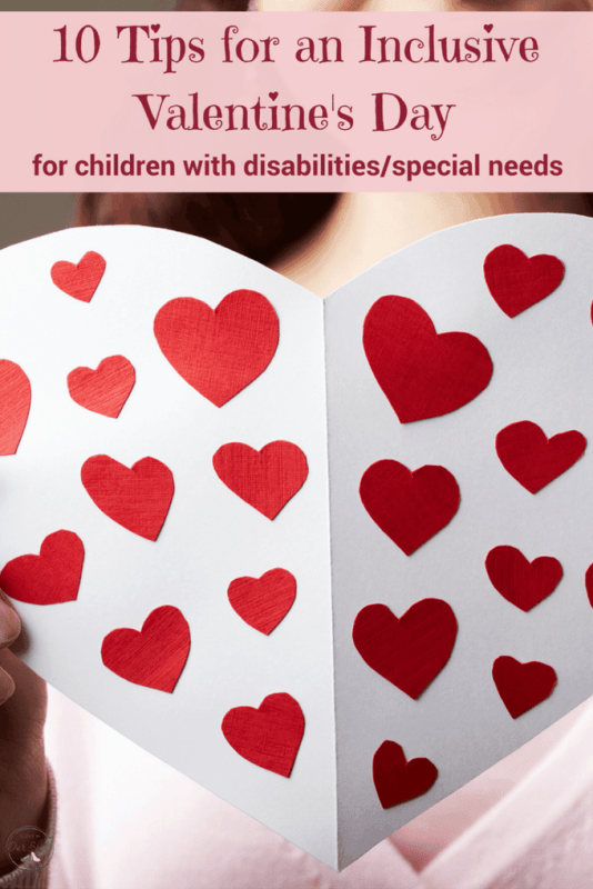 inclusive valentines day special needs