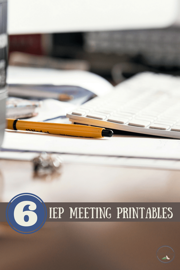 A collection of great printables to help parents be better prepared for their next IEP meeting. Sometimes it helps just to write it down!