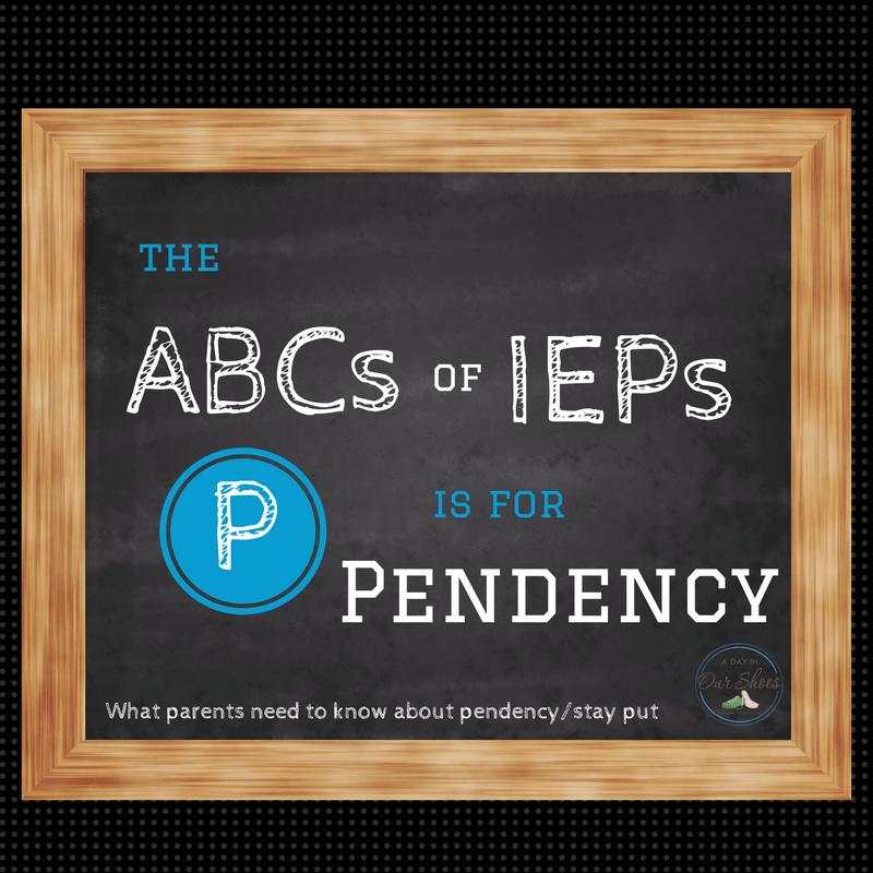 What parents need to know about Pendency and Stay Put rights in their child's IEP. It's largely misunderstood.