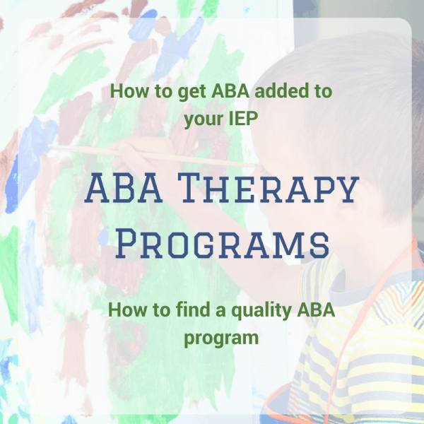 ABA Therapy Programs