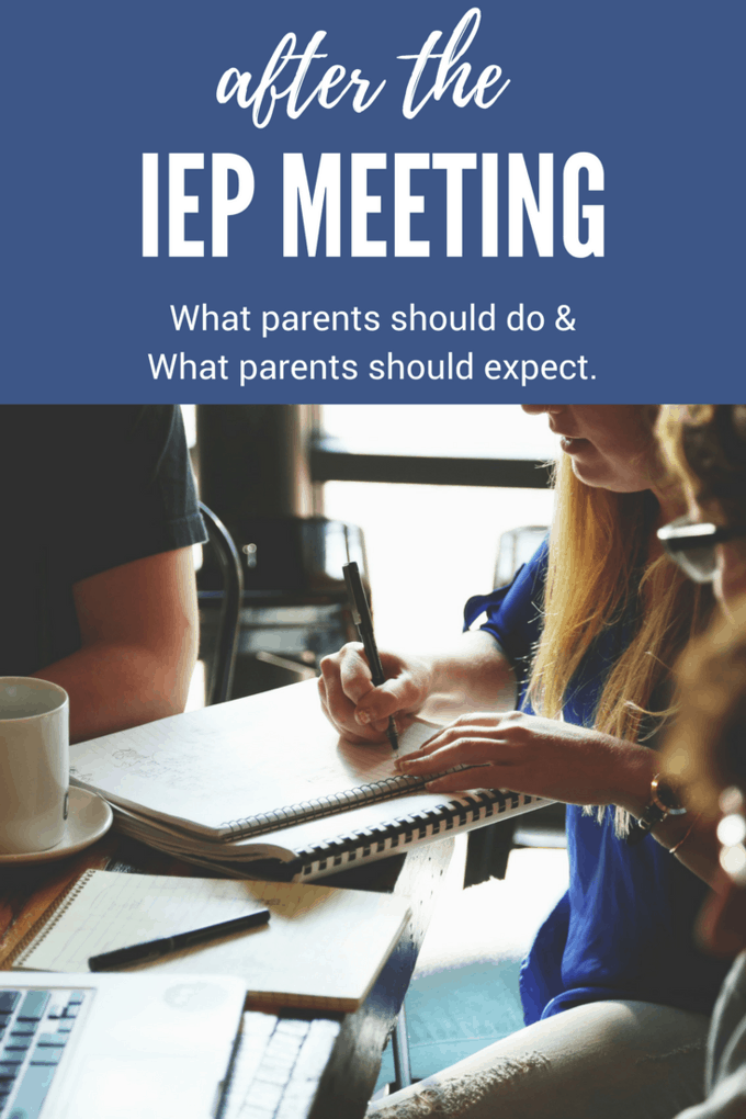 The one thing that ALL parents need to do after an IEP meeting. I bet you're not doing it! #IEP #IEPmeeting #IEPmeetingadvice #afterIEPmeeting #DontIEPalone