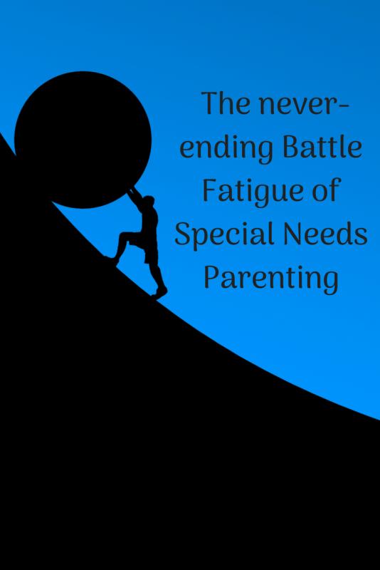 battle fatigue special needs parenting