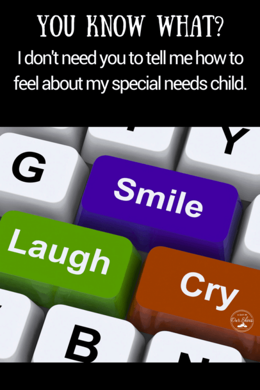 raising a disabled child