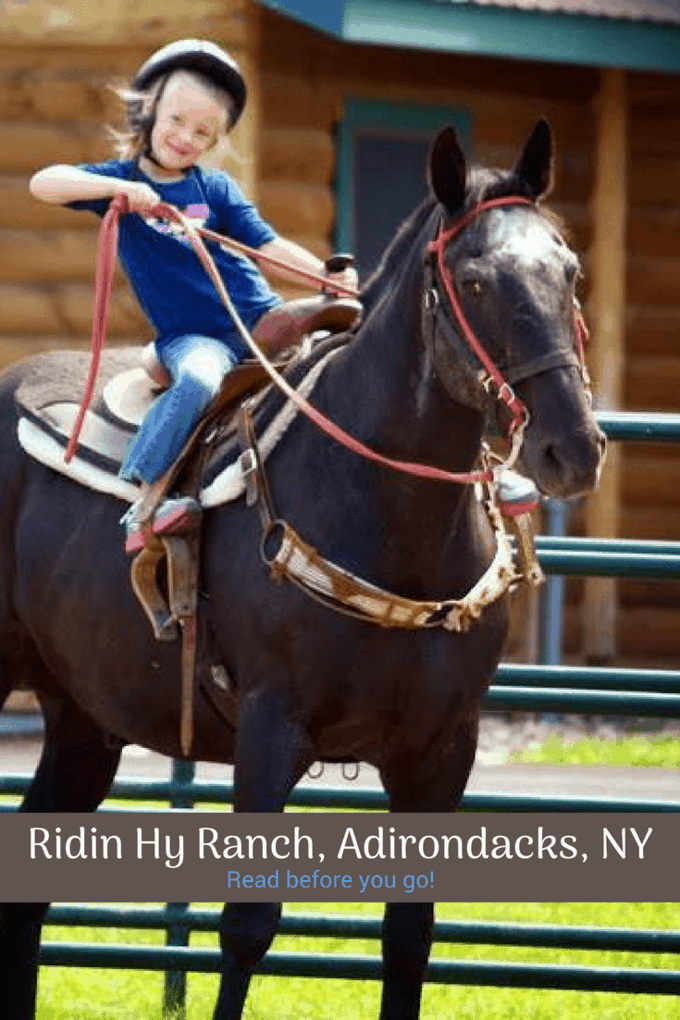 Special Needs and Sensory Friendly travel review of Ridin' Hy Ranch in the Adirondacks, NY.