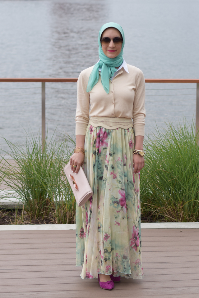 Fashion; Modesty; Fashion Blog; Hijab; Chicwish; Maxi Skirt