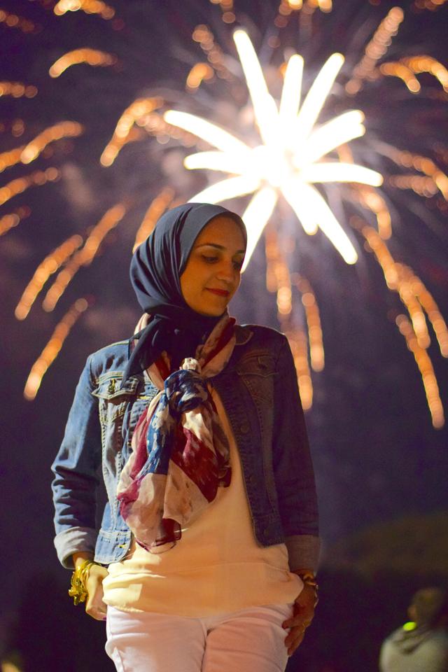 Fashion; Modesty; Fashion Blog; Hijab; Fourth of July; Patriotic; Red White & Blue