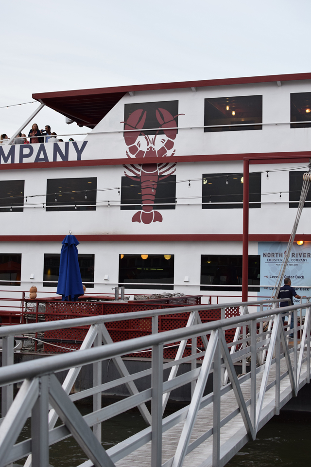 A Day In The Lalz; New York; North River Lobster Company; Pier 81; Hudson River; Food; Travel Blog; Foodie;