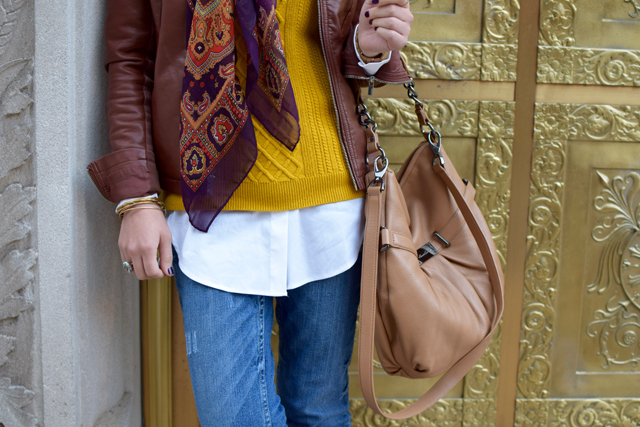 A Day In The Lalz; Fashion Blogger; Modest Fashion; Fall Fashion; Downtown Look; Streetstyle Modest Fashion; Hijab; Banana Republic; Hijabi