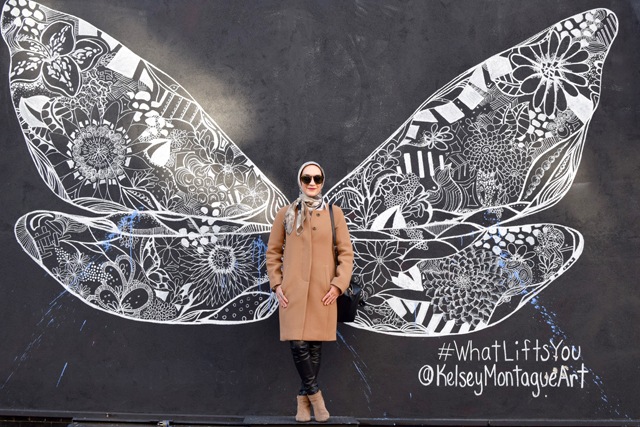 A Day In The Lalz; Travel Blog; NYC; New York City; Street Art NYC; NYC Itinerary; Fun Things to Do in NYC; What Lifts You by Kelsey Montague; Corner of Kenmore and Mott St
