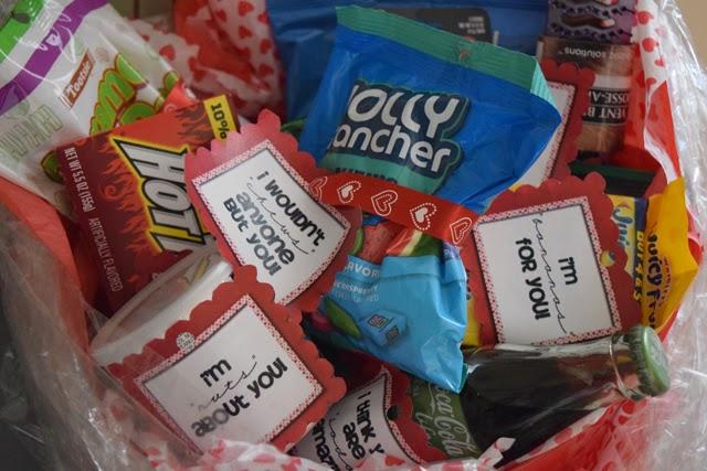 Valentine's Day, Basket of Love, Valentine's Day Gift Ideas