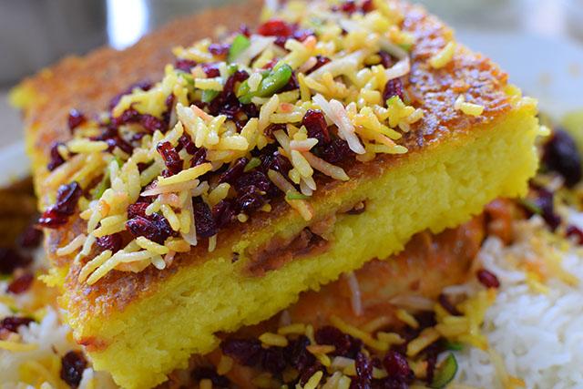 Tehran Grand Bazaar Moslem Restaurant Tahchin