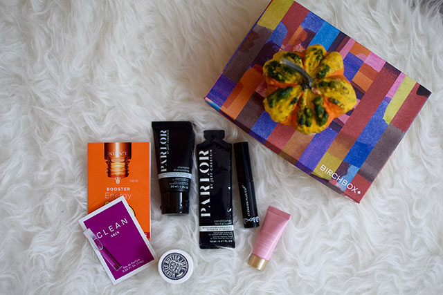 October Birchbox; Beauty Blog
