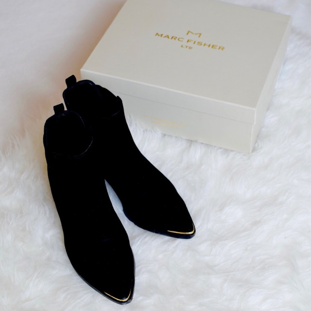 Marc Fisher booties - fashion blog - winter fashion