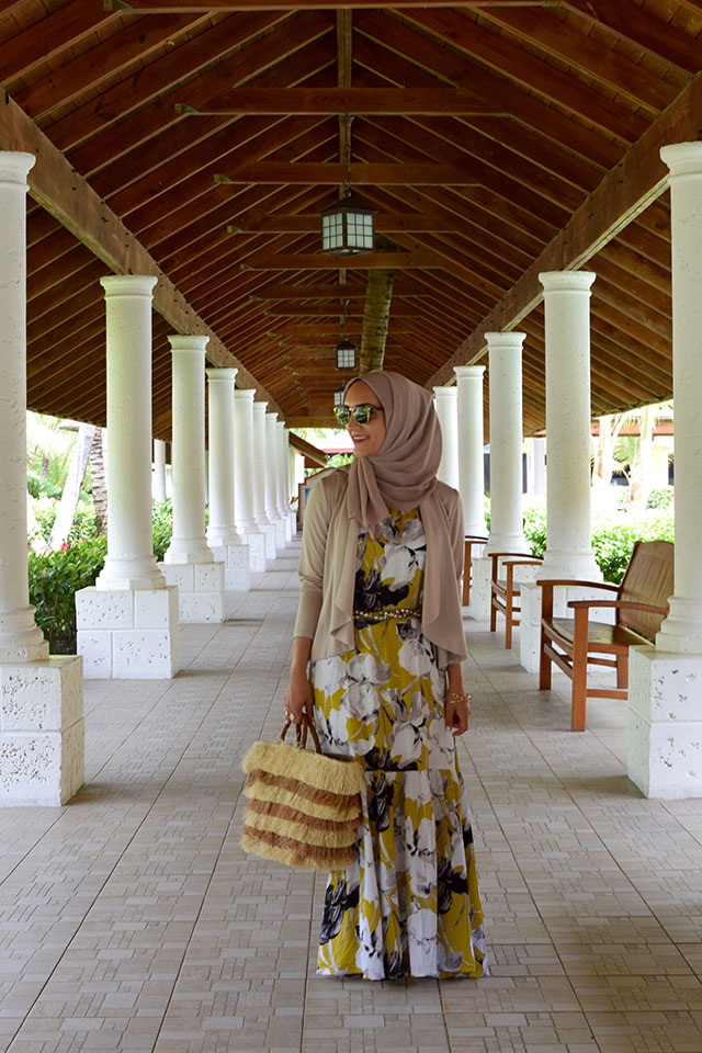 Floral Print Dress-Dominican Republic-Hijabi-Modest Fashion-Maxi Dress-Summer Style