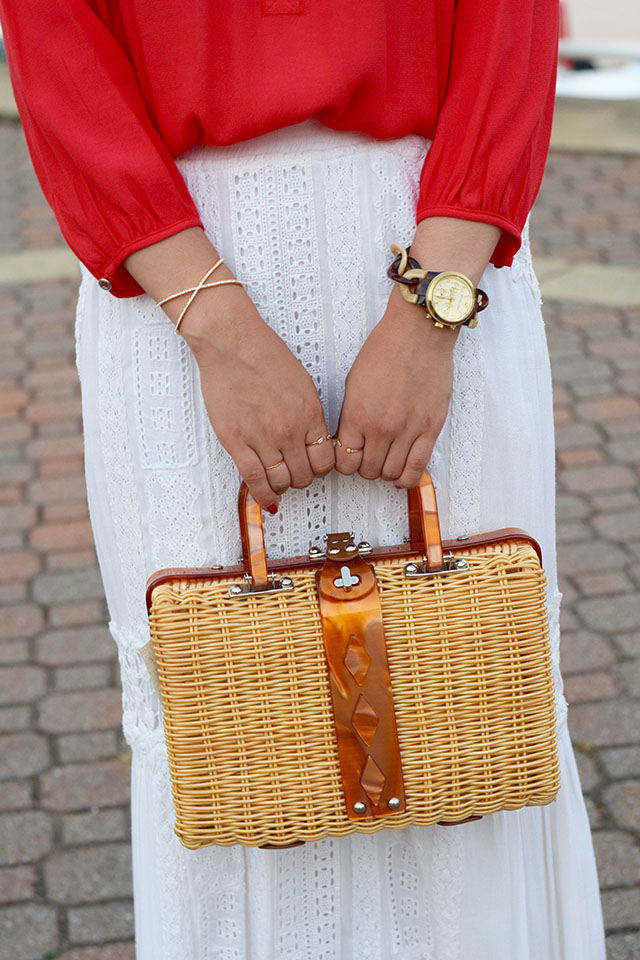 Free People-Audrey Picnic Basket