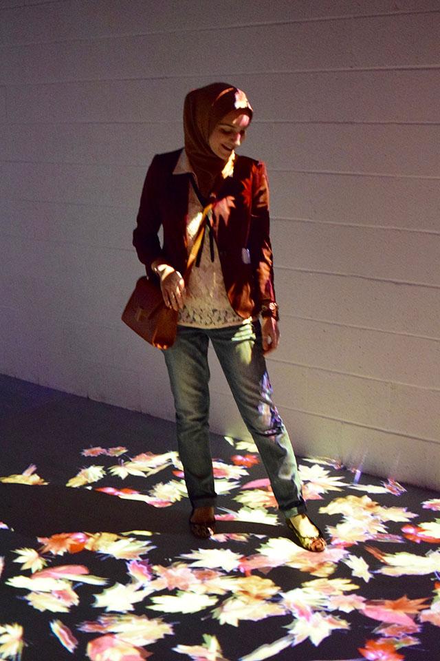 ARTECHOUSE-Spirit of Autumn-Washington DC-Travel Blog