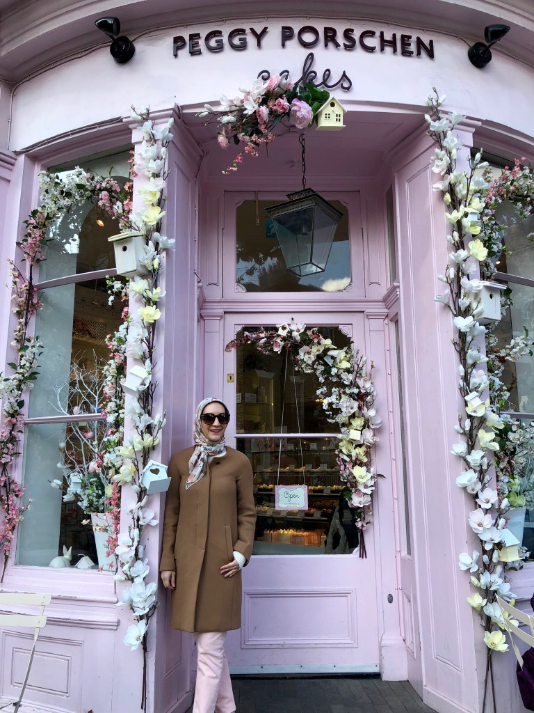 Travel Blog, Instagrammable Cafes in London, A Day In The Lalz, Peggy Porschen