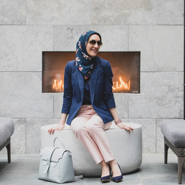How To Style Pink Pants For The Office