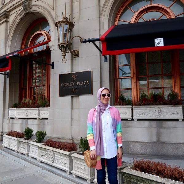 Boston Travel Diary // Fairmont Copley Plaza