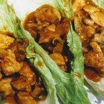 Kid Approved: Teriyaki & Cheese Chicken Lettuce Wraps