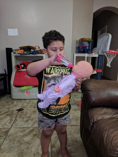 Yes My Son Plays with Dolls and that is 100% OK