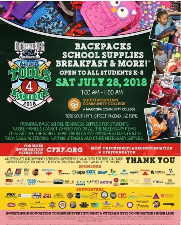 6th Annual Tools 4 School Backpack and School Supply Giveaway