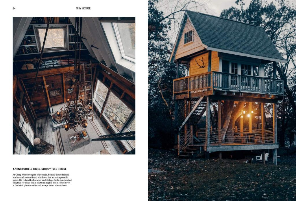 Tiny house tree house