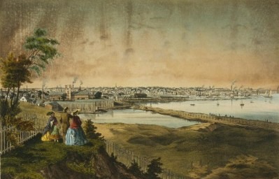 Providence, RI in the mid 1800s