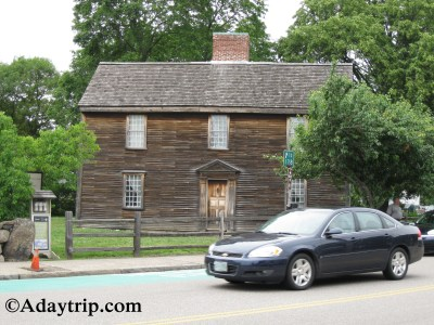 John Adams House at the Adams National Historic Park in Quincy, MA
