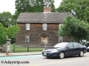 John Adams House at the Adams National Historic Park