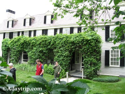 John Adams house, Peacefield in Quincy MA