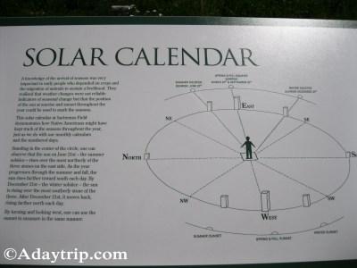 Explaining the solar calendar usage