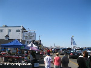 Hotels and shops, Hampton Beach