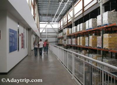 Warehouse hallway