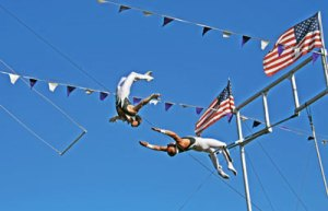 Spencer Fair Trapeze Artists