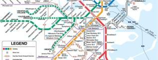 Boston Subway Map