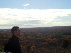 Looking out into the eternity of the Blue Hills Reservation