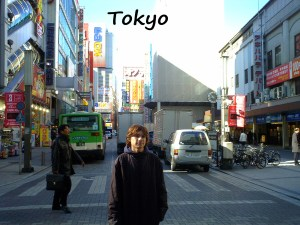 Craig exploring the Den Den Machi District (Electric District) of Tokyo