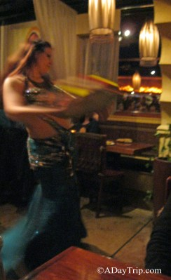 Belly Dancing at India Restaurant in Providence, RI
