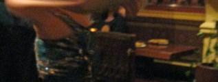 Belly Dancer at India Restaurant