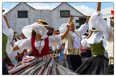 Traditional Spanish dance in Lanzarote