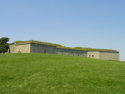 The fort at Castle Island, South Boston, MA
