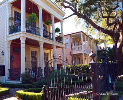 Architecture in the Garden District NOLA